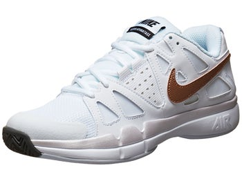 Nike Air Vapor Advantage White/Bronze  Women's Shoe
