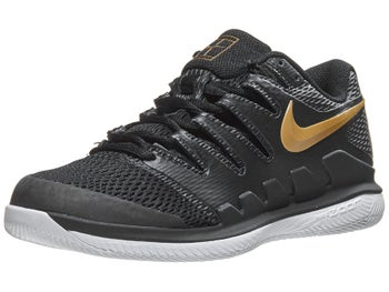 release date: c03f4 991da Product image of Nike Air Zoom Vapor X Black Gold Women s Shoe