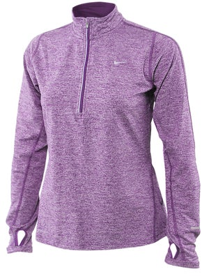 Nike Women's Summer Extended Element 1/2 Zip Top