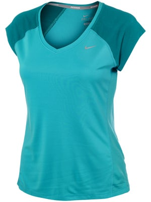 Nike Women's Summer Extended Miler V-Neck Top