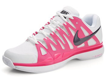 Nike Zoom Vapor 9 Tour White/Pink/Purple Women's Shoe