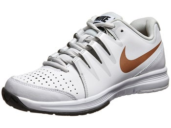 Nike Vapor Court White/Bronze  Women's Shoe