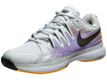 Nike Zoom Vapor 9.5 Tour Grey/Lilac/Orange Women's Shoe