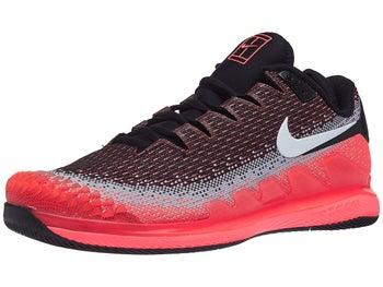 e7fe1047 Nike Air Zoom Vapor X Knit Black/Lava Men's Shoe