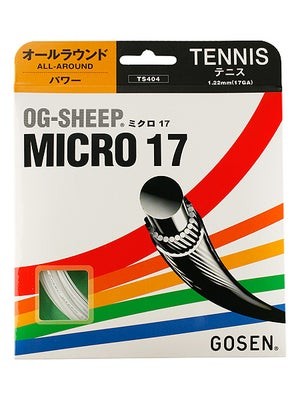 Gosen Og-Sheep Micro 17 White String
