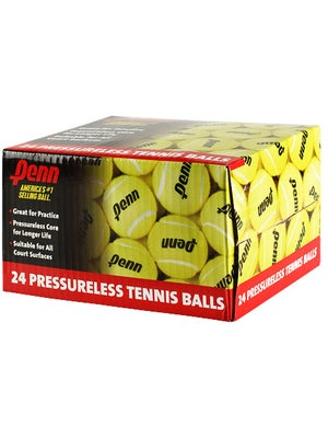 Penn 24 Ball Case of Pressureless Tennis Balls