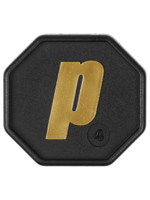 Prince Butt Cap (Black w/ Gold