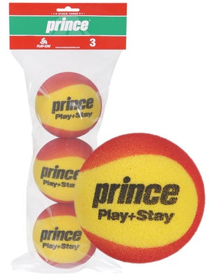 Prince Stage 3 Red Foam Ball