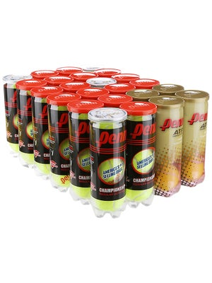 Penn Champ Gold Rush RD Tennis Balls x24 Case