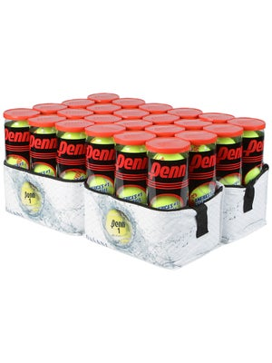 Penn Champ Regular Duty Tennis Balls w/Cooler x24 Cans