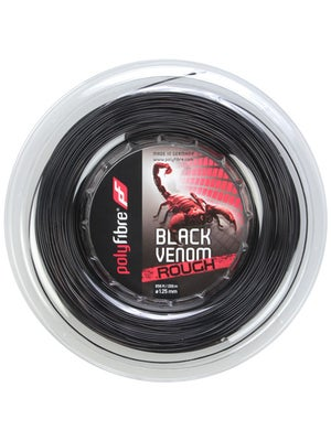 Polyfibre Black Venom Rough 16L/1.25 String Reel