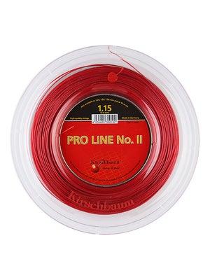 tennis warehouse kirschbaum pro line ii 18 string reel red review. Black Bedroom Furniture Sets. Home Design Ideas