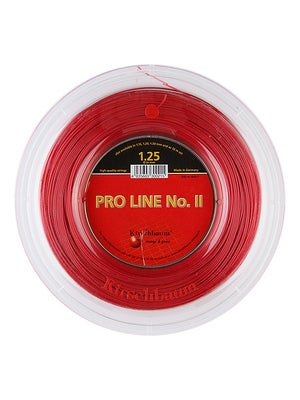 tennis warehouse kirschbaum pro line ii 17 string reel red review. Black Bedroom Furniture Sets. Home Design Ideas