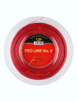 tennis warehouse kirschbaum pro line ii 16 string reel red review. Black Bedroom Furniture Sets. Home Design Ideas