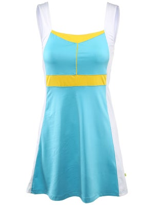Pure Lime Women's Borders Dress