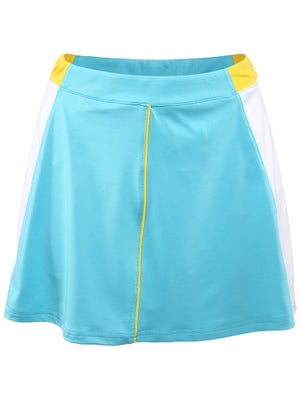 Pure Lime Women's Borders Skort