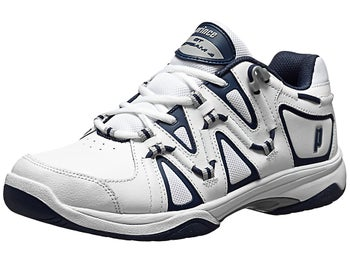 Prince QT Scream 4 White/Navy Men's Shoes