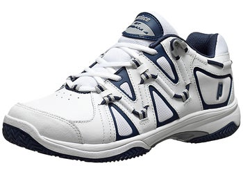 Prince QT Scream 4 Clay White/Navy Men's Shoes