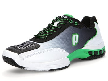 Prince Rebel 2 Black/White/Green Men's Shoes