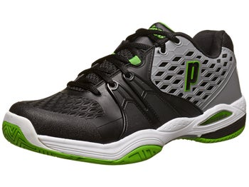 Prince Warrior Grey/Black/Green Men's Shoe