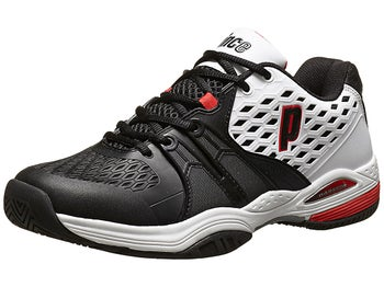 Prince Warrior White/Black/Red Men's Shoe