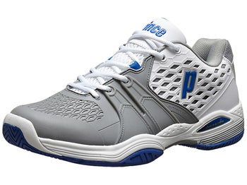 Prince Warrior White/Grey/Blue Men's Shoe