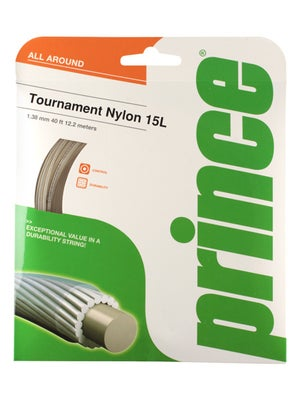Prince Tournament Nylon 15L Clear
