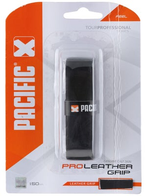 Pacific Pro Leather Grip (Black)