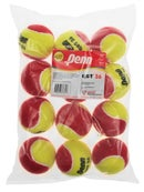 Penn Quick Start Tennis 36' Red Felt Ball 12 Pack