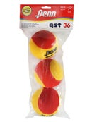 Penn Quick Start Tennis 36' Red Foam Ball 3 Pack