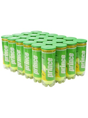 Prince TOUR Regular Duty Tennis Balls 24 Can Case