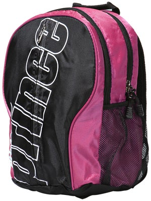 Prince Racq Pack Lite Back Pack Bag Black/Pink