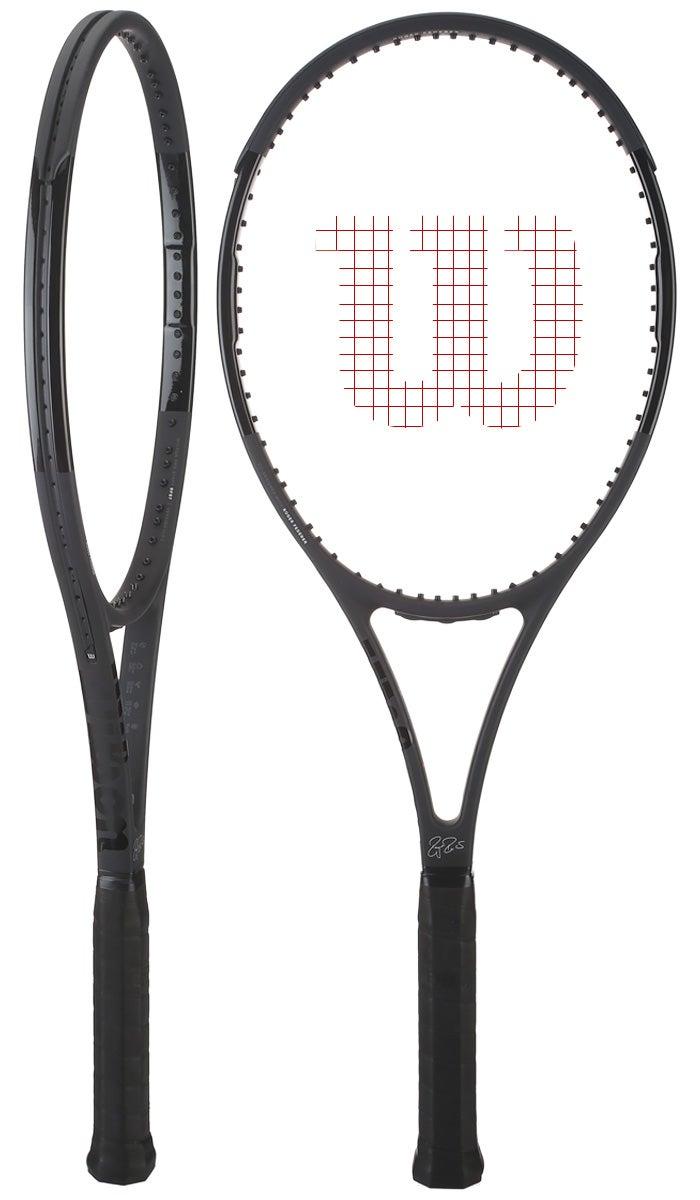 Wilson Pro Staff RF97 Autograph Black Racquet