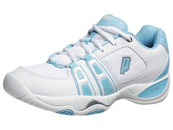 Prince T14 White/Blue Women's Shoes
