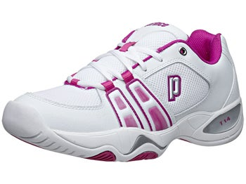 Prince T14 White/Berry Women's Shoes