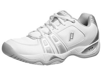 Prince T14 White/Silver Women's Shoes