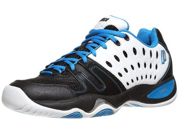 Prince T22 White/Black/Blue Men's Shoe