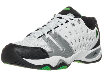 Prince T22 White/Black/Green Men's Shoe