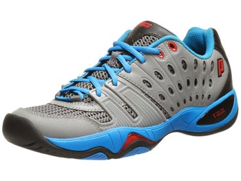 Prince T22 Grey/Blue/Black Men's Shoe