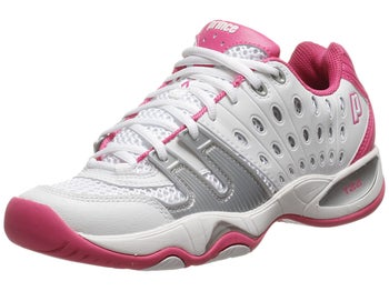 Prince T22 White/Pink Women's Shoes