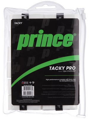 Prince TackyPro 12 Pack Overgrip White