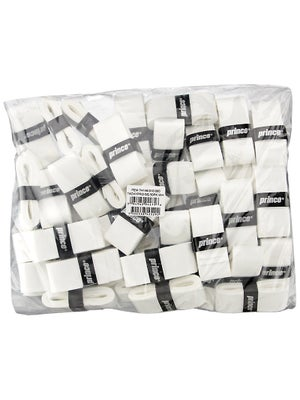 Prince TackyPro Bulk Pack Overgrip White