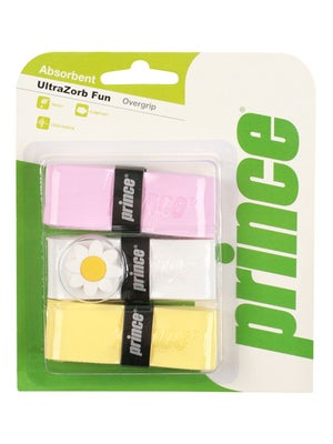Prince Ultra Zorb Overgrip Pink/White/Yellow