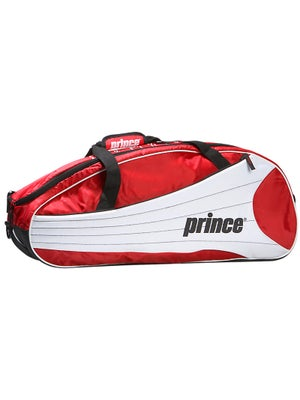 Prince Victory Red/White 6 Pack Bag