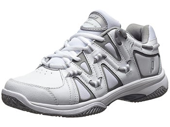 Prince QT Scream 4 Clay White/Silver Women's Shoes