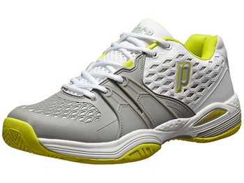 Prince Warrior White/Grey/Citron Women's Shoes