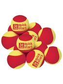 Quick Start Red Foam 12 Pack Ball
