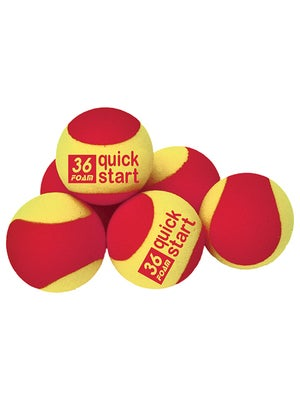 Quick Start Red Foam 6 Pack Ball