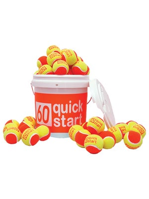 Quick Start Orange Felt 36 Ball Bucket