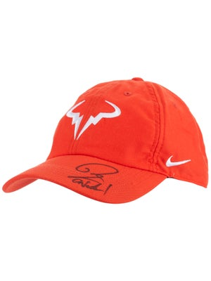 be4f50f79 Rafa Nadal Autographed 2019 Hat Red (New)